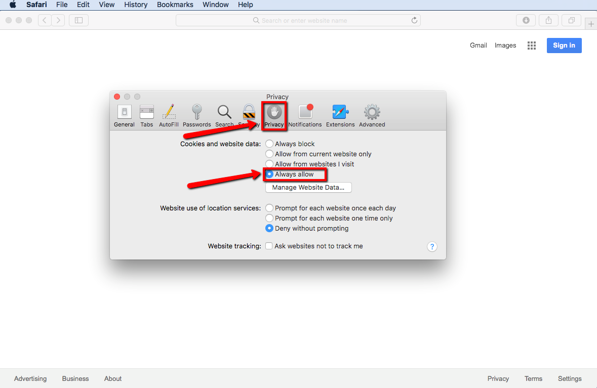 How To Enable Cookies In Safari By Marc Abrahams In The Preference Window  Select The Privacy